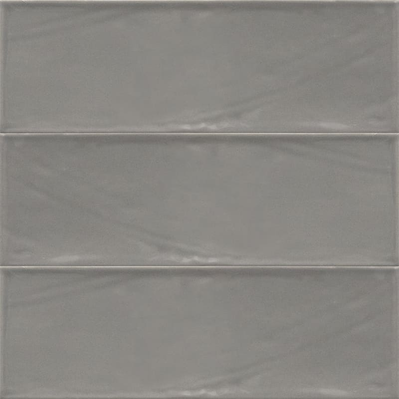 Sample image of the Bulevar Grey 10x30,5cm gloss wall tile from Spain.