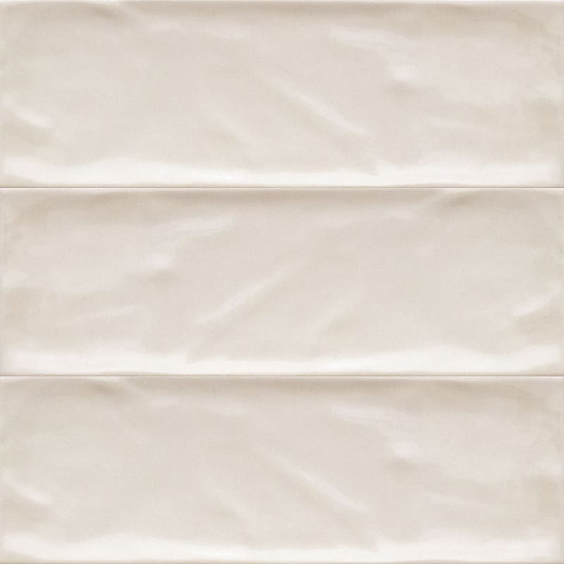 Sample image of the Bulevar Ivory 10x30,5cm gloss wall tile from Spain.