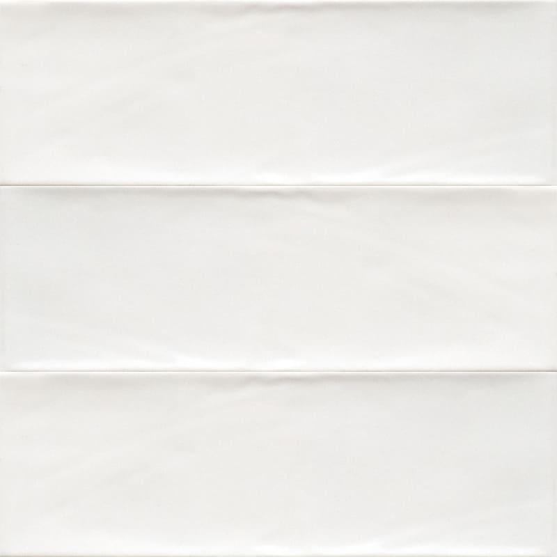 Sample image of the Bulevar White 10x30,5cm gloss wall tile from Spain.