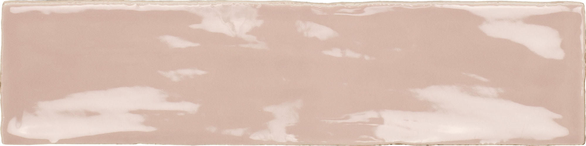 Sample image of the Deco Metro Poitiers pink 7,5x30cm gloss wall tile from Spain.