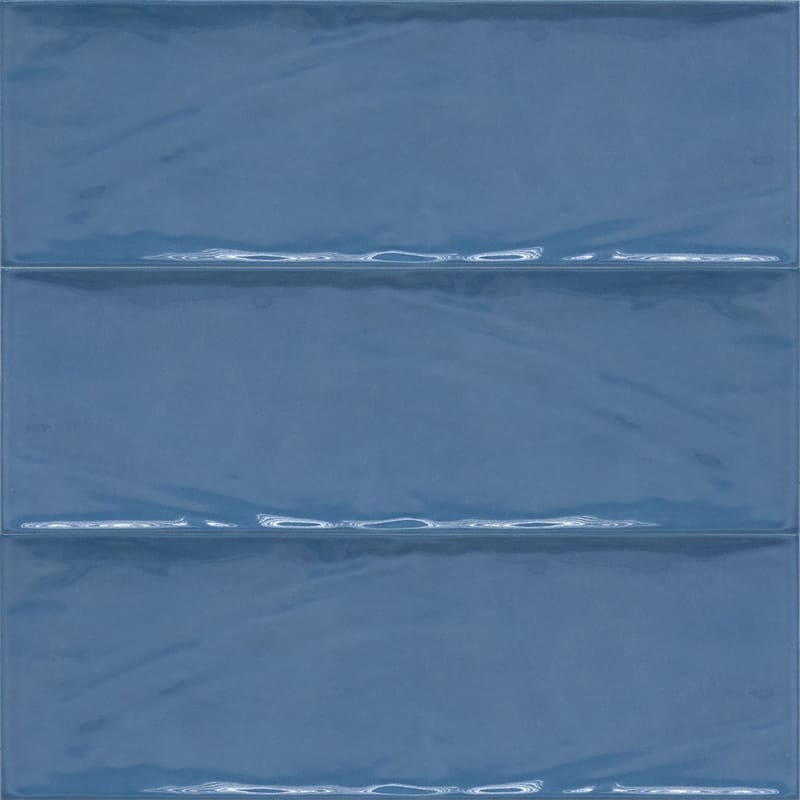 Sample image of the Deco Metro Royal Azul 10x30,5cm gloss wall tile from Spain.