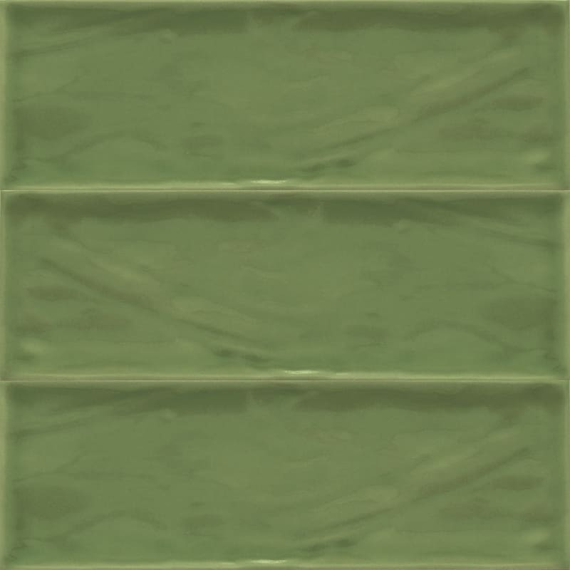 Sample image of the Deco Metro Royal Oliva 10x30,5cm gloss wall tile from Spain.