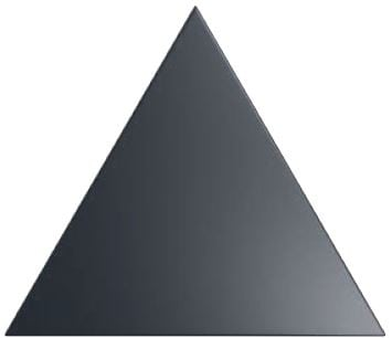 triangle black flat matt décor tile 150x170mm ZYX layer blackmate by Decobella tiles - South Africa the pefect tile for creating one of many patterns installed as a wall feature in any household. Combine this tile + colour with our three dimensional tiles to create a modern and bespoke effect.