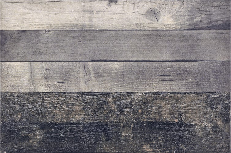 Grey  wood-look tile 78x610mm Chevronchic grey by Decobella tiles - south Africa with up to 100 faces and imported from Italy, This porcelain tile is as close as it comes to emulating a wood look.