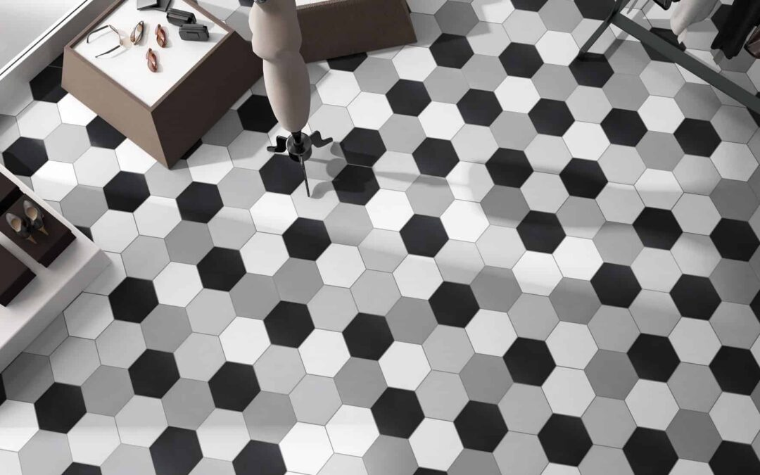 Deco Hex Basic - Hexagonal Tiles by Decobella